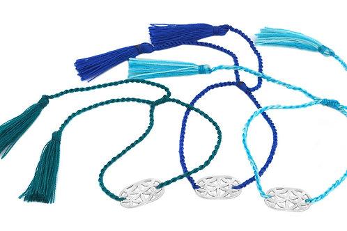 3 Bracelets LOTUS sky color