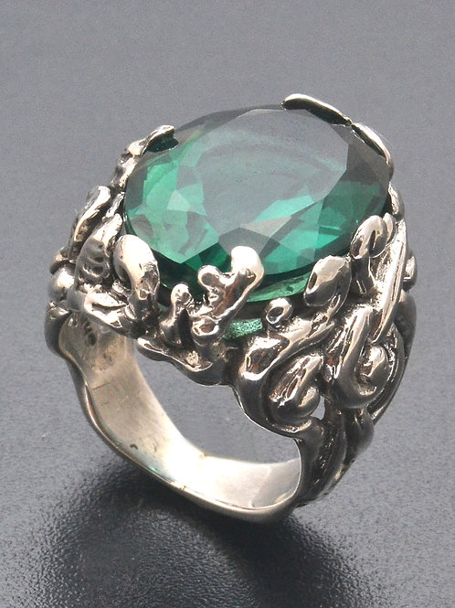 Teal garden ring