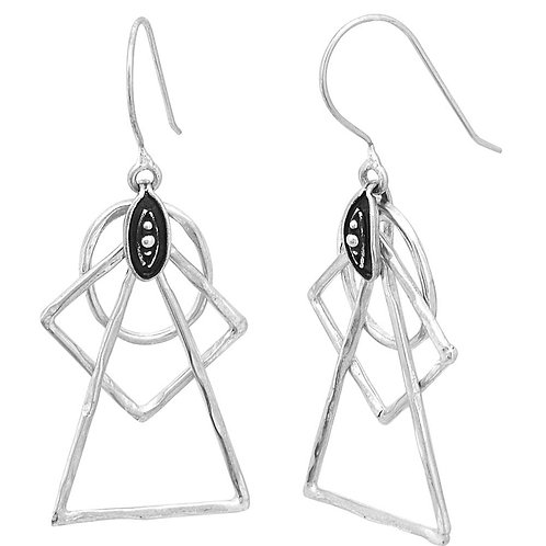Masamu Triangle earrings
