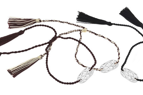 3 Bracelets LOTUS natural color
