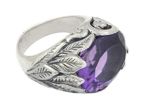 Garden Amethyst Ring