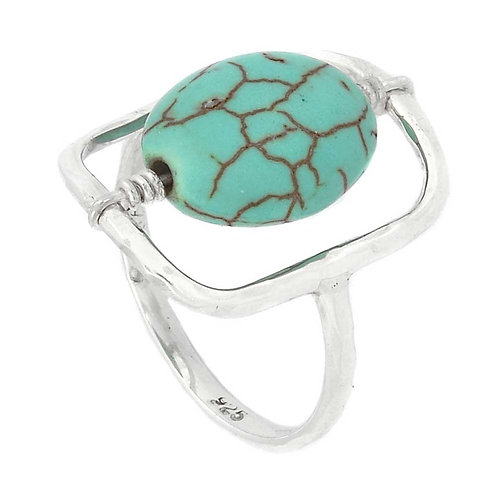 Turquoise Lolypop Ring