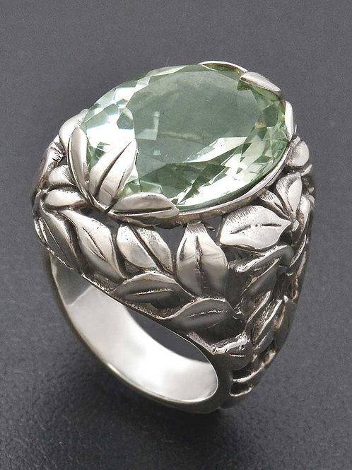 Eden ring amethys green ring
