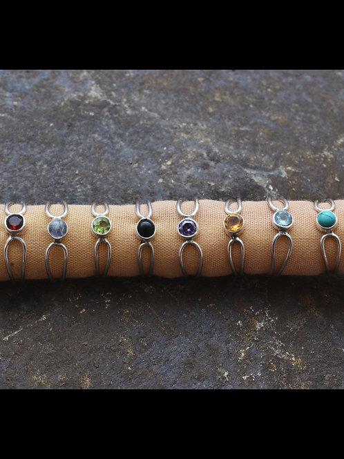 Birthstone Etoille Rings