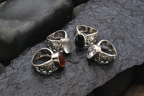 JEWEL CROWN ring