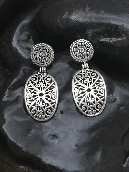 Toraja Shield earrings