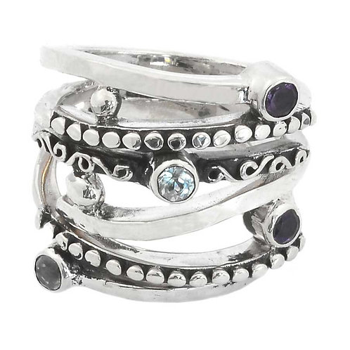 Our special Harmony Multi Stones ring