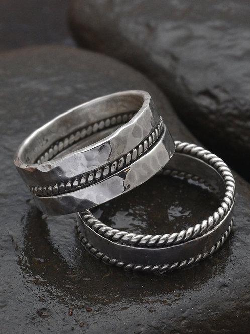 TALI AIR couple rings