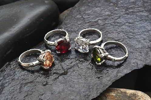BAMBOO GEM rings