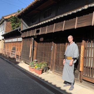Wrapped in a Kimono, surrounded by history