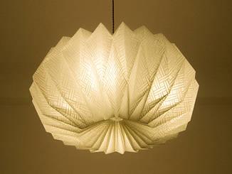 Origami  lamp  Cloud -Tosa Washi-