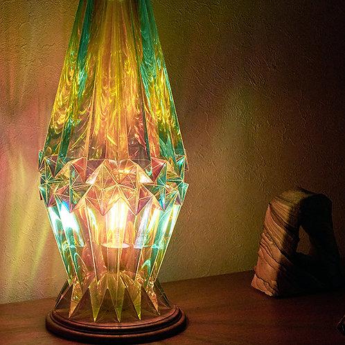 サンプル Origami Table Lamp Crystal S  ホログラム