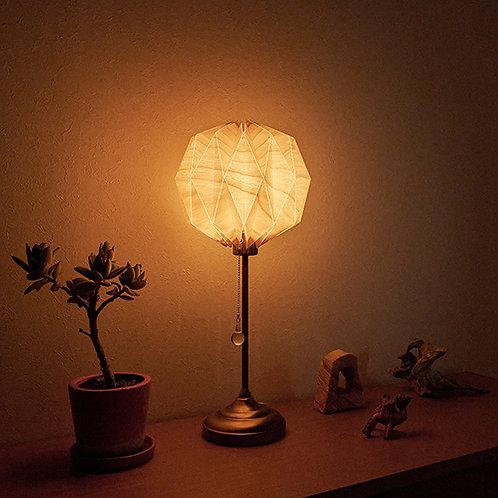 Origami Table Lamp Sphere M 樺桜