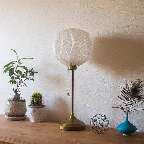 Origami Table Lamp Sphere M 土佐落水和紙