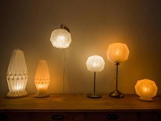 Origami  lamp  -Tosa Washi-