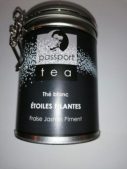Thé blanc. Etoiles filantes