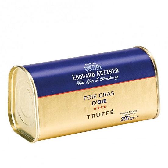 Foie gras d'Oie truffé 145g & 200g
