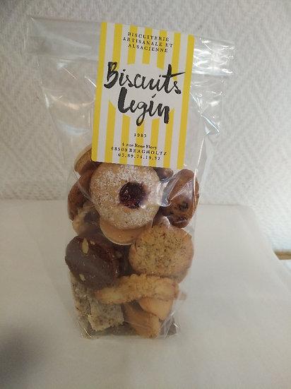 Assortiments de biscuits artisanales