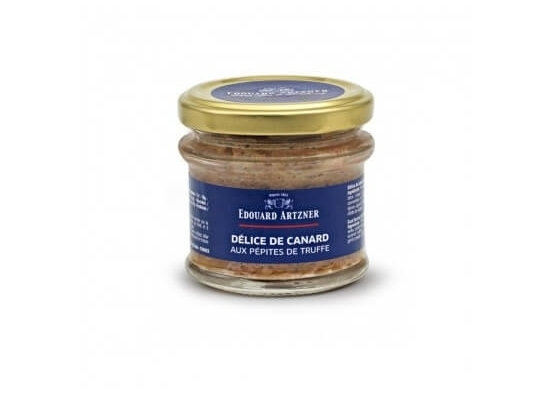 Délice de canard aux pépites de truffes