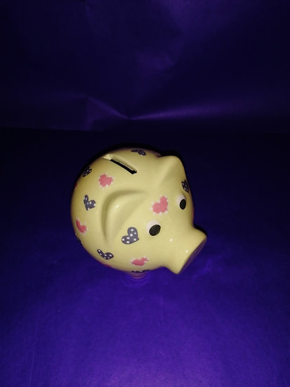 Tirelire cochon 10 cm