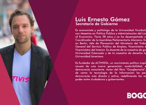 Nuevo Gabinete #Bogotá Secretario de Gobierno