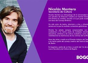 Nuevo Gabinete #Bogotá Secretario de Cultura