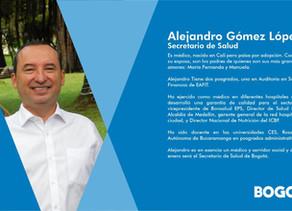 Nuevo Gabinete #Bogotá Secretario de Salud
