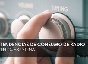 Encuesta de DATEXCO, 61.6% de las personas estan consumiendo más radio durante la cuarentena