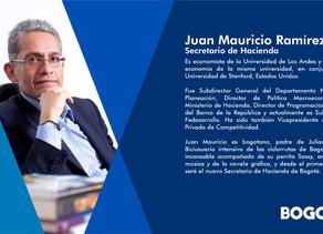 Nuevo Gabinete #Bogotá Secretario de Hacienda