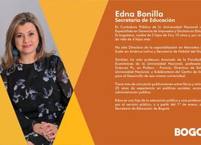 Nuevo Gabinete #Bogotá Secretaria de Educación