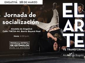 Jornada de presentación del Programa de Estímulos para la Cultura Engativá