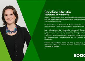 Nuevo Gabinete #Bogotá Secretaria de Ambiente.