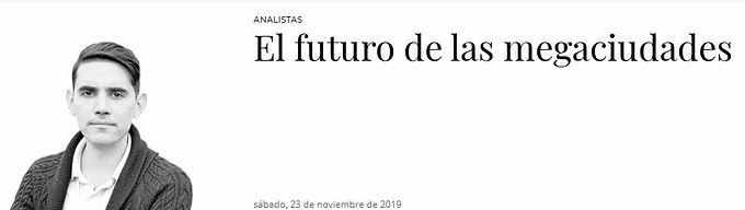 El futuro de las megaciudades