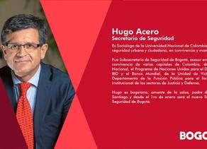 Nuevo Gabinete #Bogotá Secretario de Seguridad