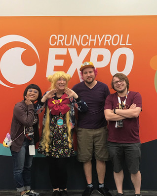 Crunchyroll Expo: Interview with Rooster Teeth!