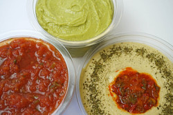 Fresh Dips, Fresh Salsa, Fresh Hummus