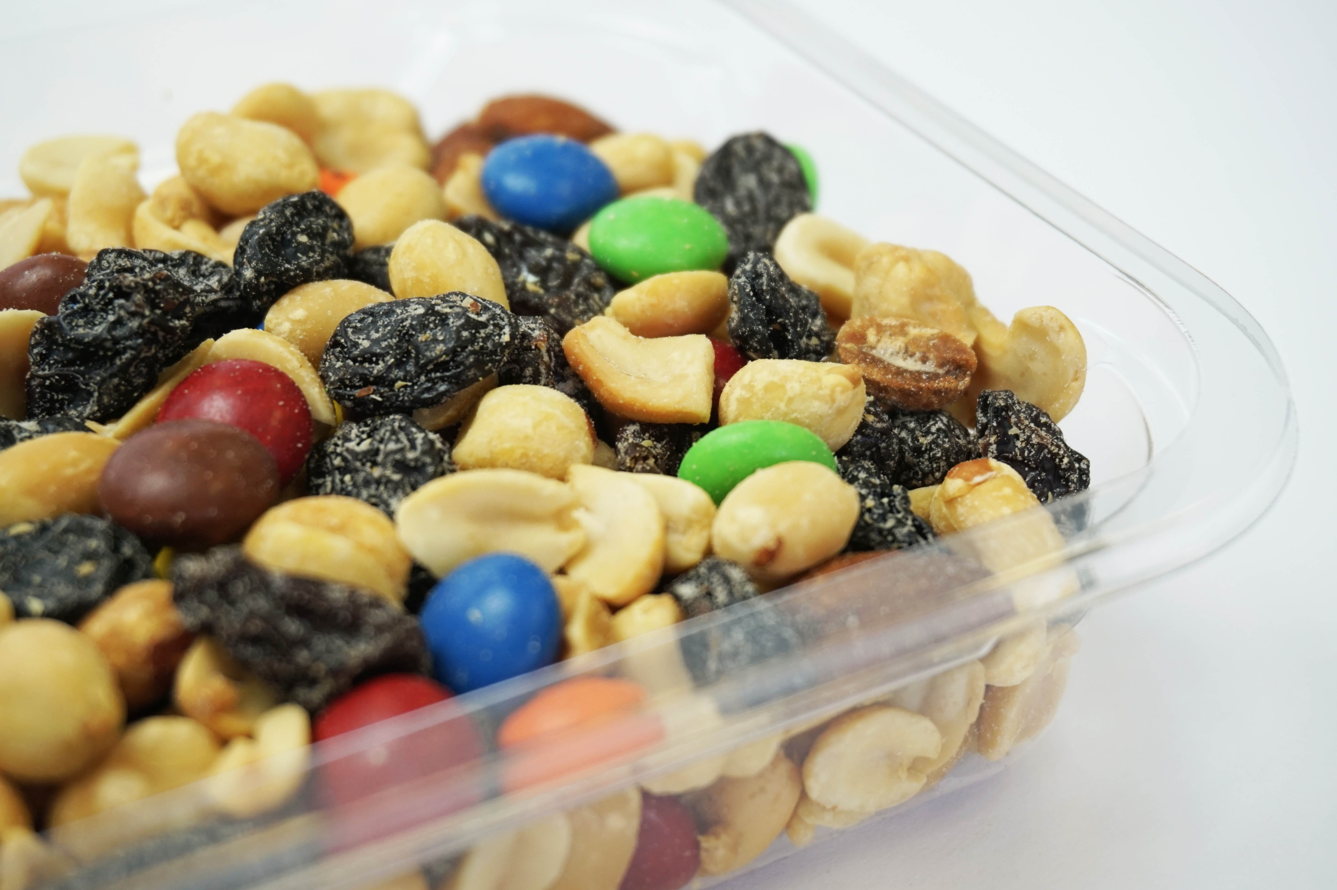 Trail Mix in Cups, Dry Mixed Nuts in Cups, Dry Toppings in Cups, dry food filling machine