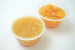 Fruit in Cups, Fruit Filling Machine, Apple Sauce In Cups, Apple Sauce Filling Machine
