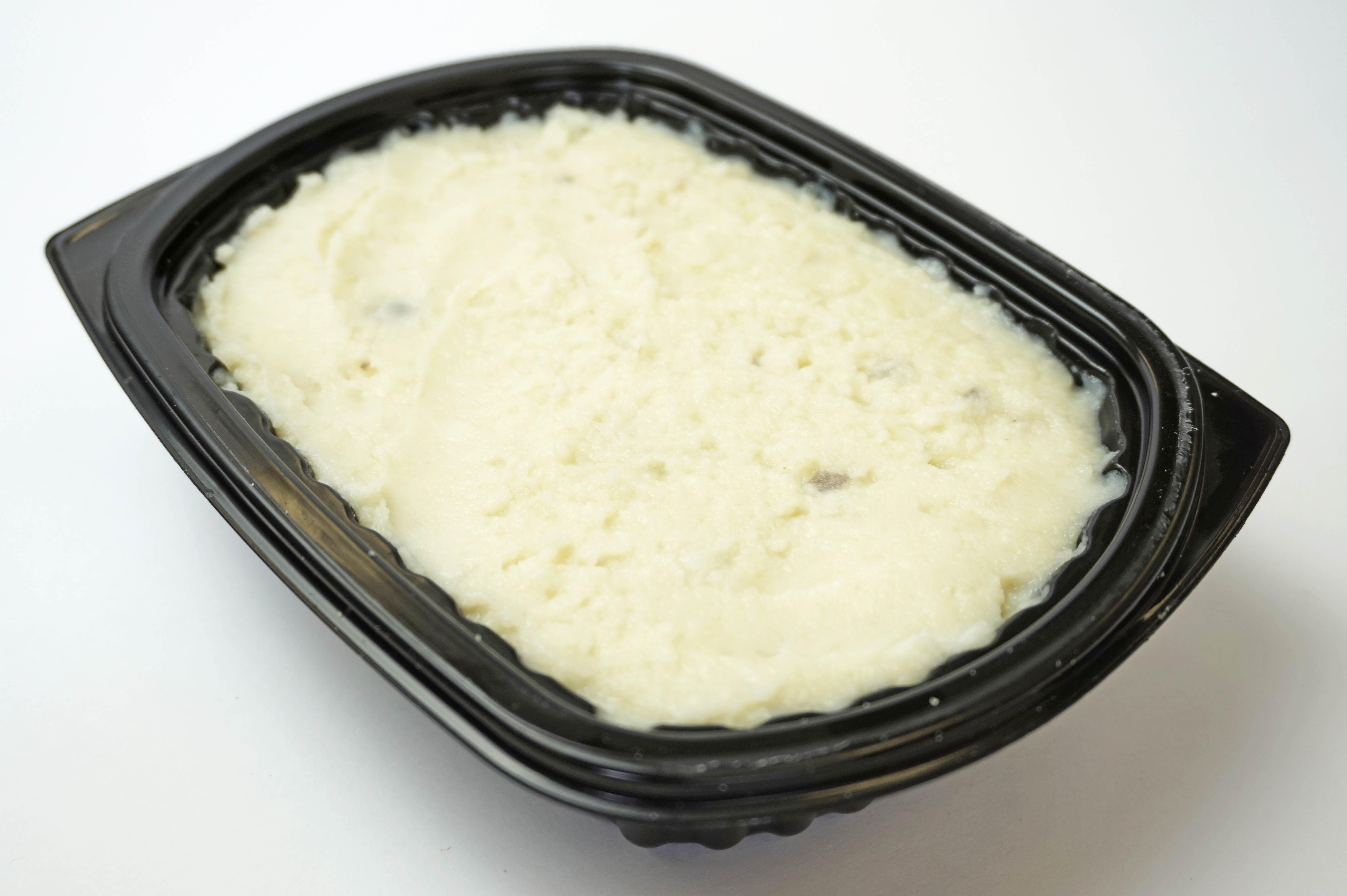 Mashed Potatoes in a Tray, Mashed Potato Tray, Mashed Potato Filling Machine