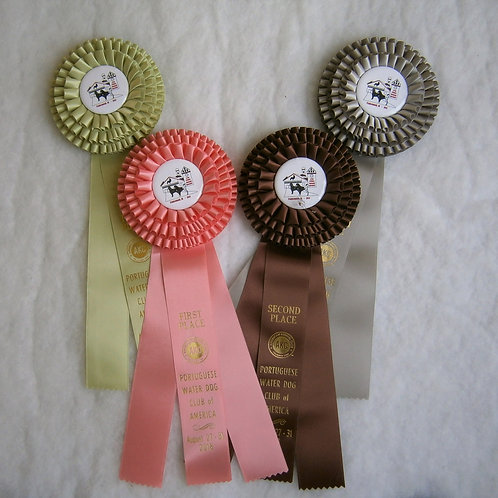 Puppy Sweepstakes: Rosettes