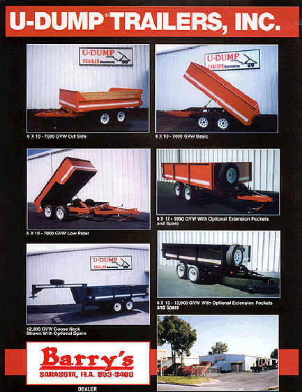 u dump trailers
