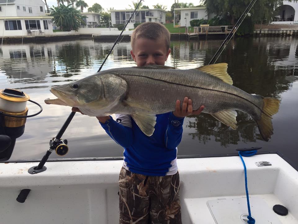 KID FISHING VENICE FLORIDA
