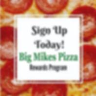 big mikes pizza venice rewards program.J