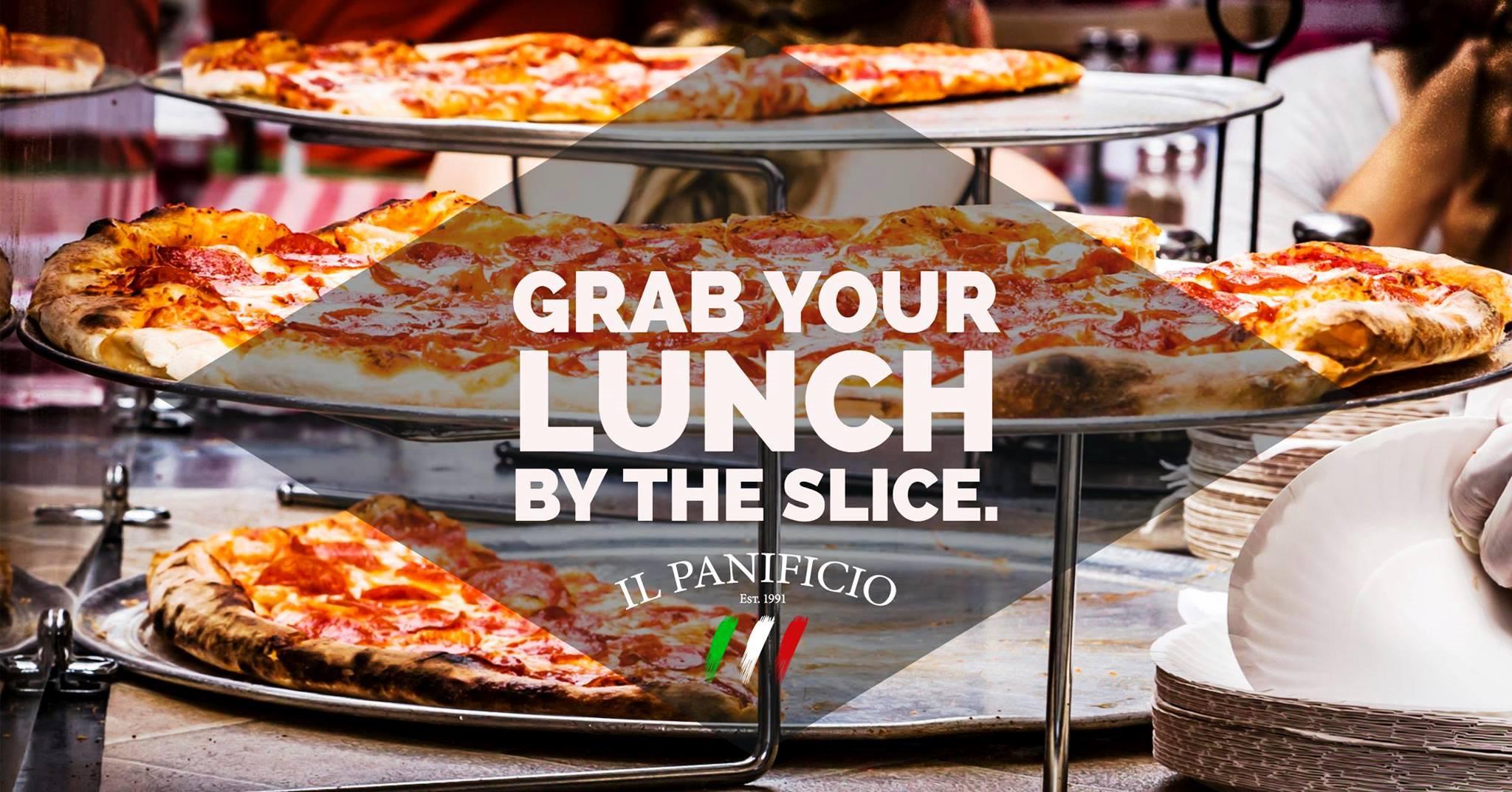 pizza slices for lunch gulf gate il panificio