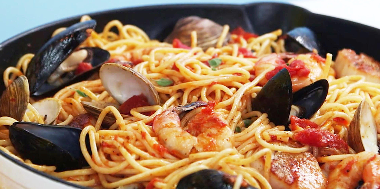 BEST PASTA | SEAFOOD PASTA | RICO'S