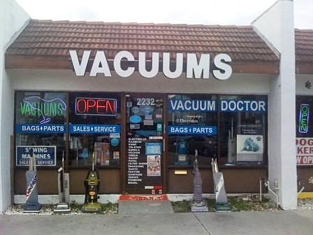Vacuum Doctor Offers A Large Selection Of Vacuums And Supplies To The Sarasota FL Area We Provide New Rebuilt Repair Offer