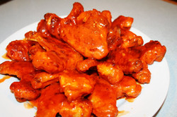 Baked Spicy Chicken Wings gulf gate sarasota