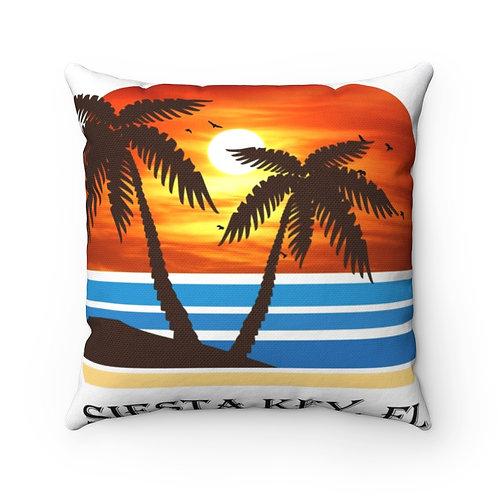 Spun Polyester Square Pillow Case
