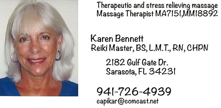 Karen Bennett Gulf Gate Massage