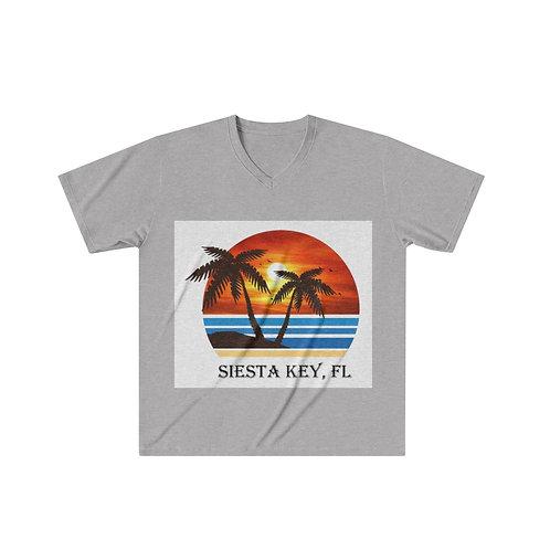 Men's Tri-Blend V-Neck T-Shirt
